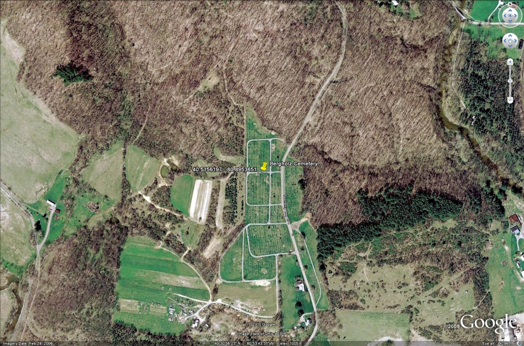 Ohio jefferson county bergholz - Bergholz Cemetery Kearn Miller Hendrix Farm Private